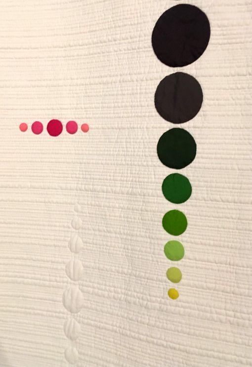 "detail of ""Circular Reasoning"" by Sylvia Schaefer"