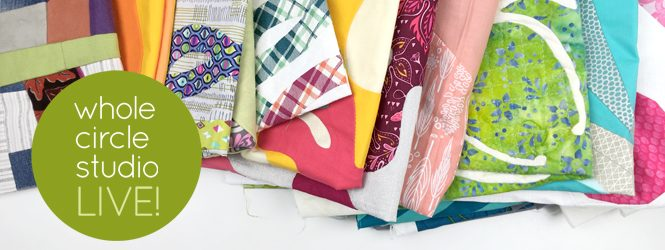3 tips for finishing your work in progress quilts. Check out Whole Circle Studio LIVE! and my recommendations.