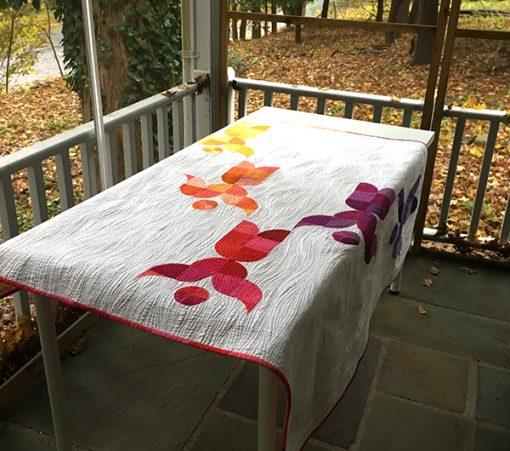 Lift Up quilt by Sheri Cifaldi-Morrill of Whole Circle Studio